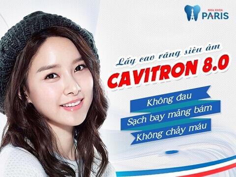 Cavitron BP 8.0 - phương pháp lấy cao răng hiệu quả, không đau đớn